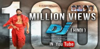 Allu Arjun's DJ Hindi Dubbed Version Hits 100 Million Digital Views