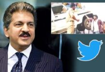 Anand Mahindra Tweet on Jai Simha Movie Scene