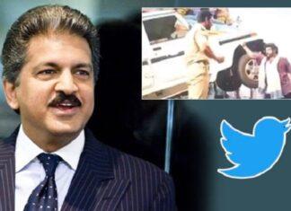 Anand Mahindra Tweet on Jai Simha Movie Scene