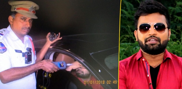 Telugu Anchor Pradeep Machiraju Driving Licence Cancelled for 3 Years