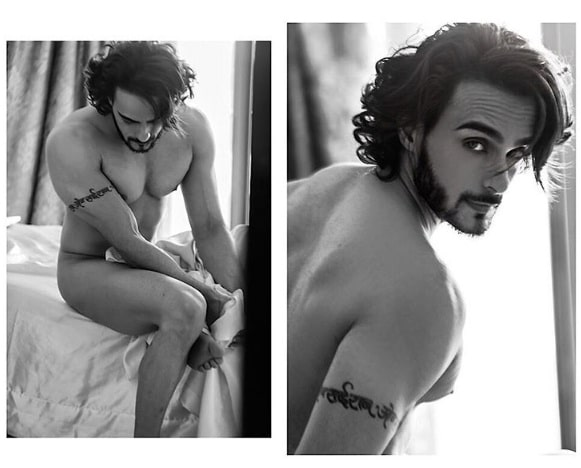 TV Actor Angad Hasija Goes Topless for Photoshoot