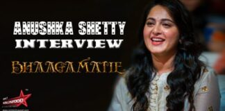 Anushka Shetty Interview About Bhaagamathie Movie