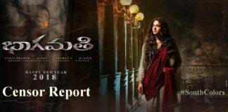 Anushka Shetty's Bhaagamathie Movie Censor Report