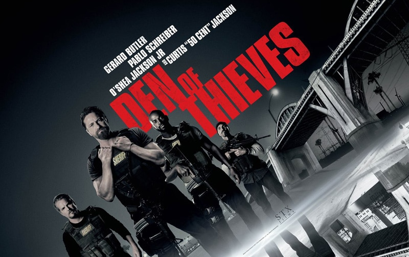 gerard butlers den of thieves release in india