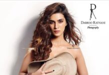 Kriti Sanon Goes TOPLESS for Dabboo Ratnani 2018 Celebrity Calendar