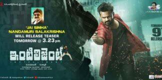 Nandamuri Balakrishna Releases Intelligent Movie Teaser