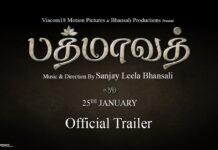 Padmaavat Tamil Official Trailer