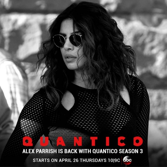 Priyanka Chopra's Quantico season 3 Release on 26 April  2018