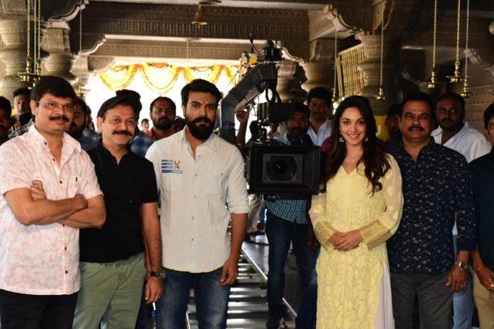 Ram Charan and Boyapati Srinu Movie Launched