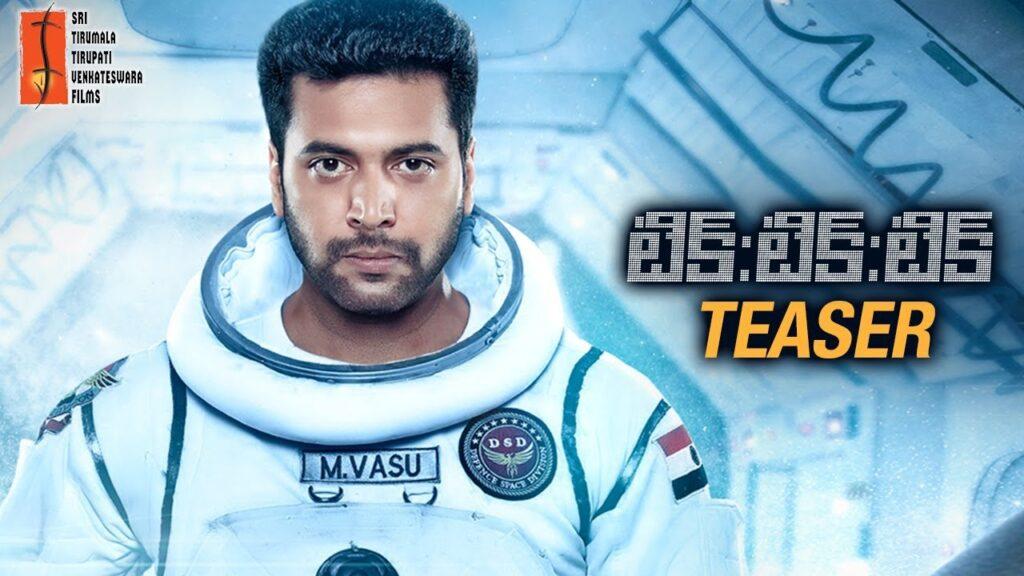 Jayam Ravi's Tik Tik Tik Telugu Movie Teaser