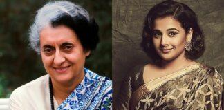 Vidya Balan to Play PM Indira Gandhi on Screen