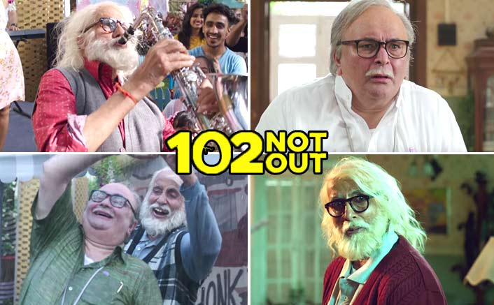 102 Not Out Official Teaser - Starrer Amitabh Bachchan and Rishi Kapoor