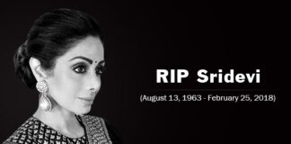 Actress Sridevi Passed Away at 54