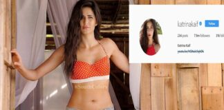 Actress Katrina Kaif Gets 7 Million+ Instagram Followers