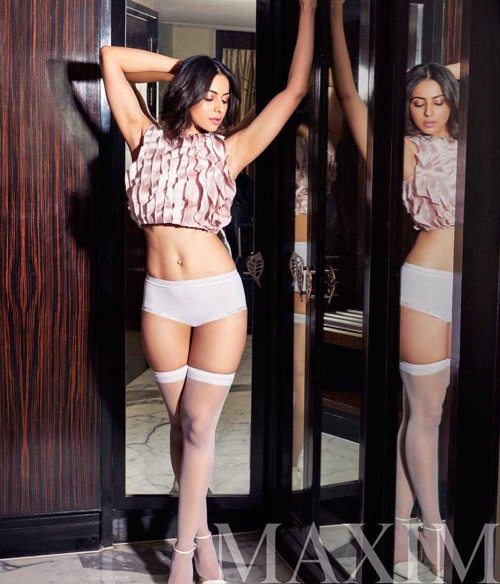 actress rakul preet singh maxim photoshoot photo gallery 7