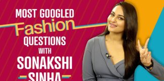 Actress Sonakshi Sinha Answers the Most Googled Fashion Questions