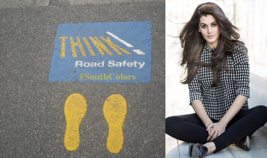 Actress Taapsee Pannu Valentines Day Message to Fans on Road Safety
