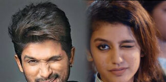 Allu Arjun in AWE of Priya Prakash Varrier Viral Wink Video