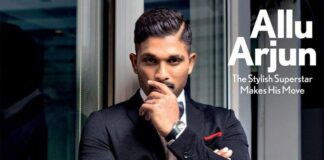 Allu Arjun Ultra Stylish Look on Maxim Cover Shoot 2018