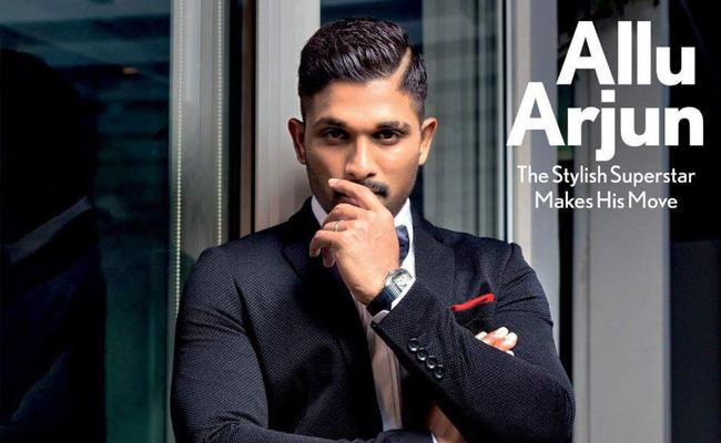 Allu Arjun Ultra Stylish Look on Maxim Cover Shoot 2018