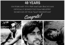 Amitabh Bachchan Completed 49 Years in Bollywood
