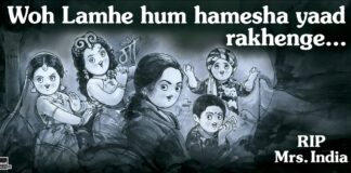 Amul Pays Emotional Tribute to Sridevi