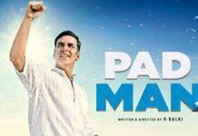 CM Vasundhara Raje Announced Padman Tax-Free in Rajasthan