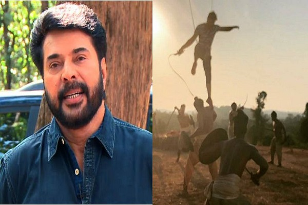 Mammootty Injuried while Shooting Mamankam Fight Sequence