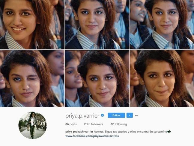 priya-prakash-varrier-instagram-crosses-2-million-followers