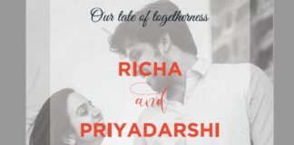 Actor Priyadarshi Wedding Invitation Card