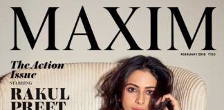Rakul Preet Singh Hot Bikini Pose to Maxim Magazine 2018