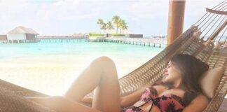 Samantha Akkineni Relaxing on Beach in Bikini