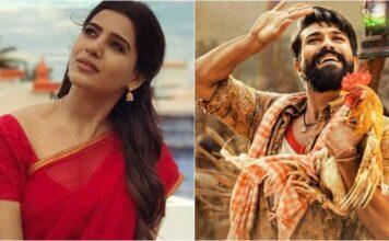 Samantha Akkineni Thanks Ram Charan for Rangathalam Special Teaser