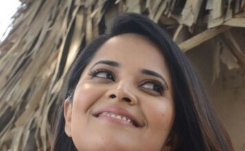 Anchor Anasuya Latest Photos Rangasthalam Movie Release Press Meet