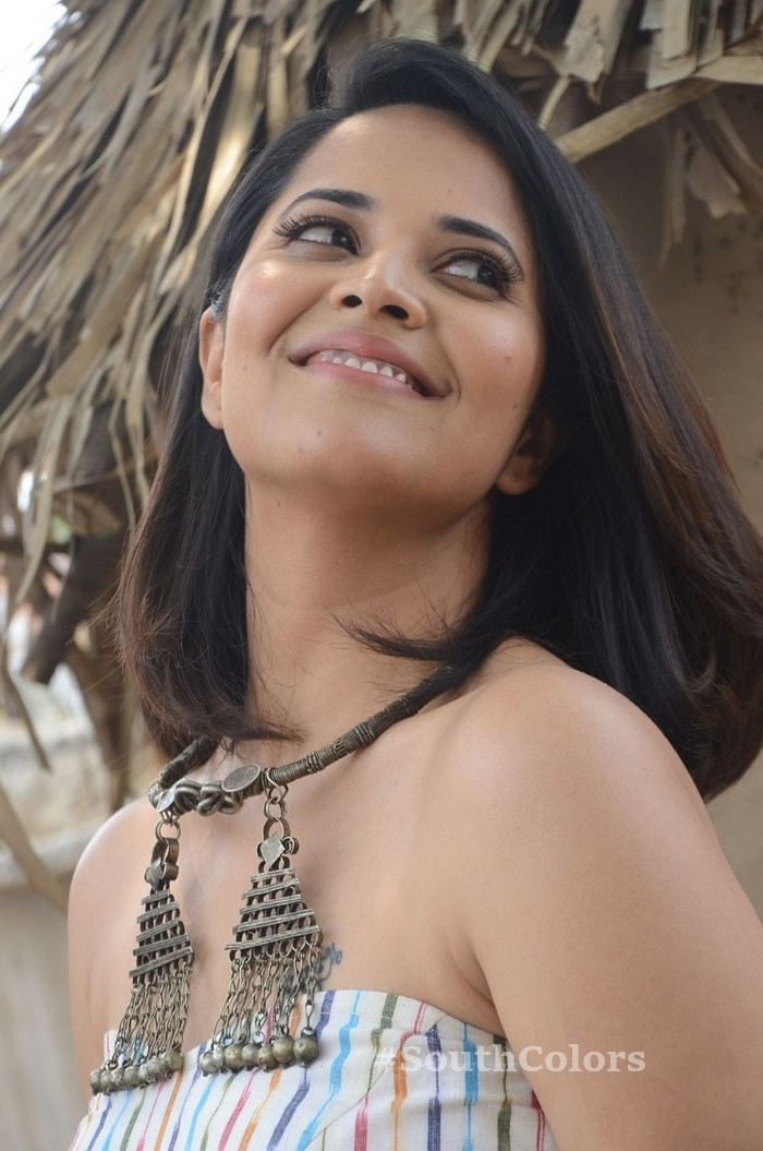 Anchor Anasuya Latest Photos Rangasthalam Movie Release Press Meet