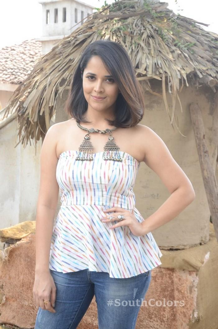 anchor anasuya latest photos rangasthalam movie release press meet 16