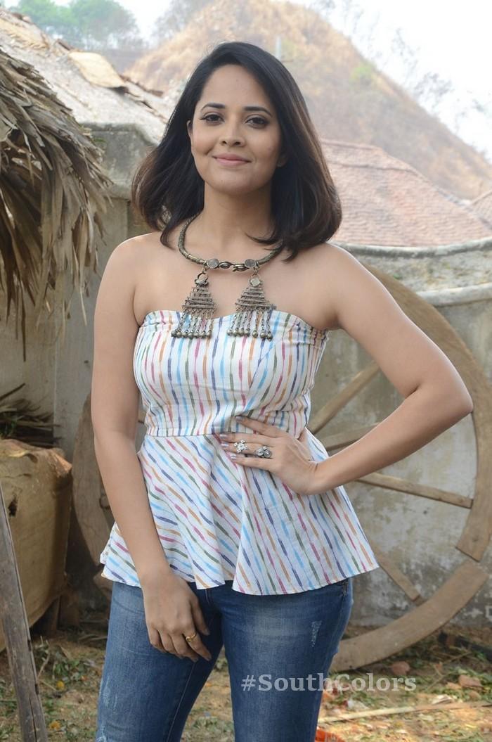 anchor anasuya latest photos rangasthalam movie release press meet 2