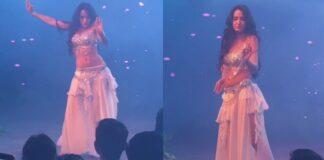 Nora Fatehi Belly Dance Video
