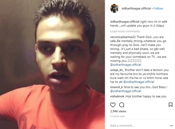 comedian siddharth sagar reveals mental harassment by family on instagram