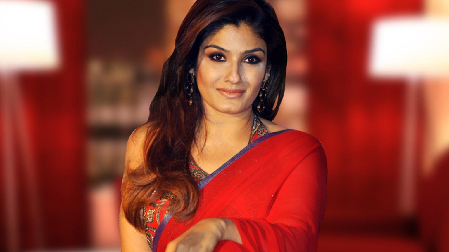 FIR Against Raveena Tandon for Shooting Inside Lingaraj Temple