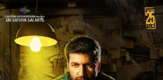 Gopichand Pantham Movie First Look Poster