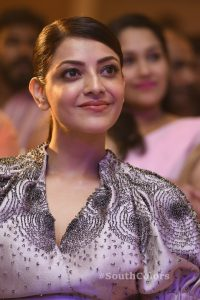 kajal aggarwal latest photos at mla pre release event southcolors 13