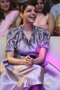 kajal aggarwal latest photos at mla pre release event southcolors 16