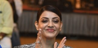 Actress Kajal Aggarwal Latest Photos at MLA Pre Release Event