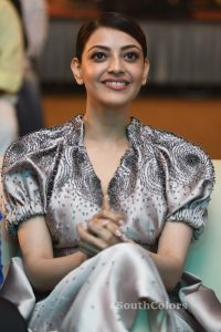 kajal aggarwal latest photos at mla pre release event southcolors 19