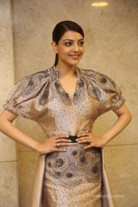 kajal aggarwal latest photos at mla pre release event southcolors 4