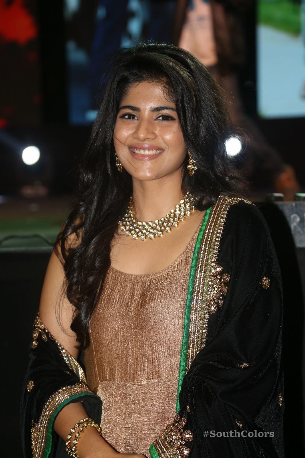 Megha Akash Latest Photos At Chal Mohan Ranga Pre-Release Event