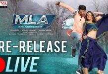 MLA Movie Pre-Release Event LIVE Online
