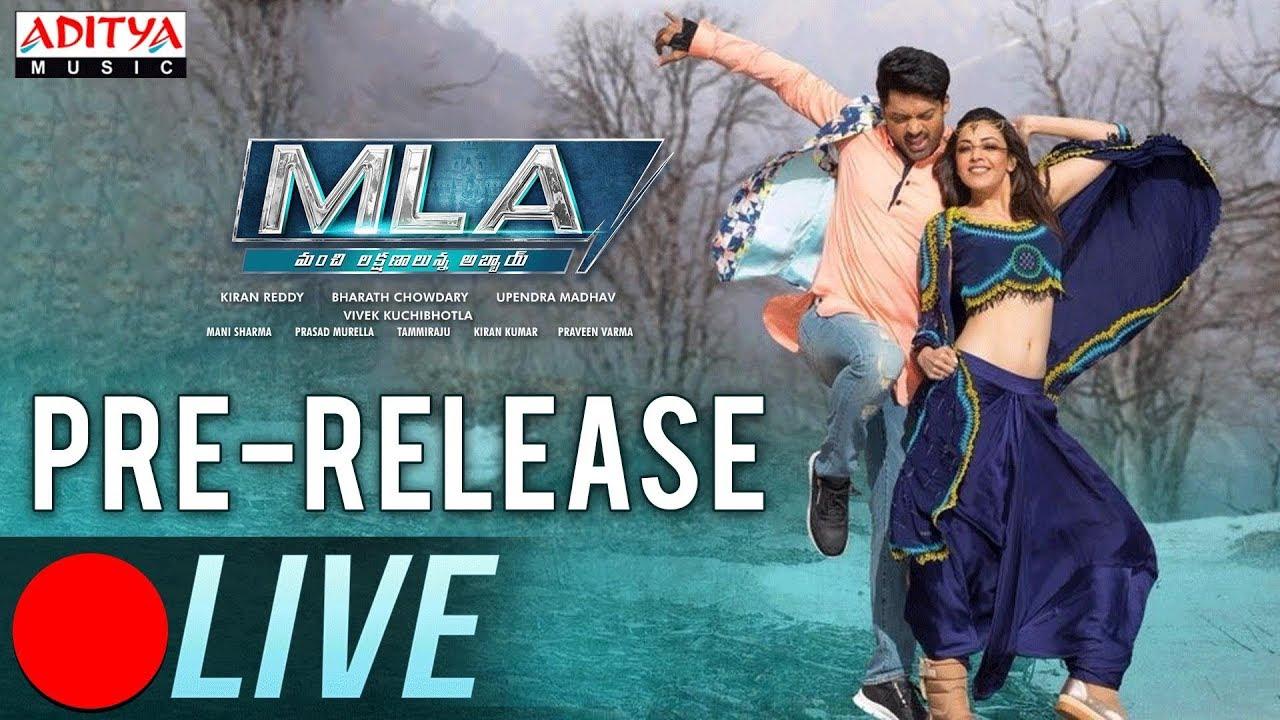 MLA Movie Pre-Release Event LIVE Online