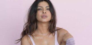 Priyanka Chopra Hot Bikini Cleavage Show Photoshoot